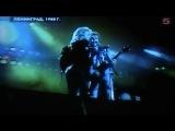 Сюжет 5 канала ТВ о приезде Scorpions в Москву в 2010г.